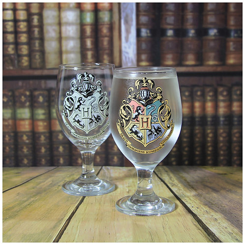 Colour Change Hogwarts Glass