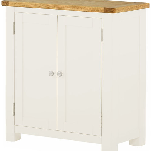 Oban White 2 Door Cabinet
