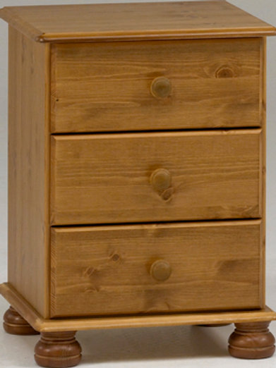 Richmond Pine Bedside - FLATPACK