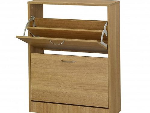 Nova 2 Drawer Shoe Cabinet