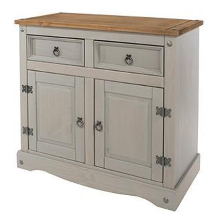 Albany Rustic Grey 2 Door Sideboard