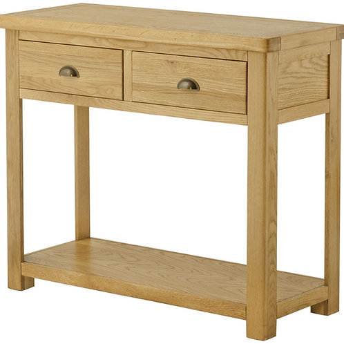 Oban Oak Large Console Table