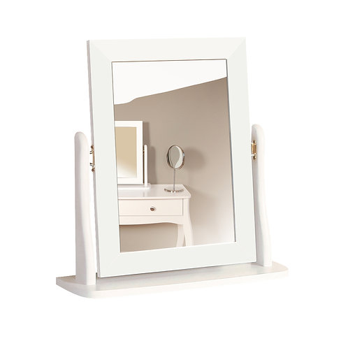 Baroque White Mirror