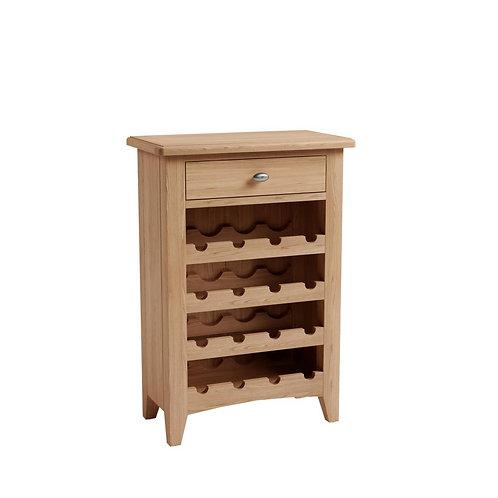Whitley Oak Wine Cabinet