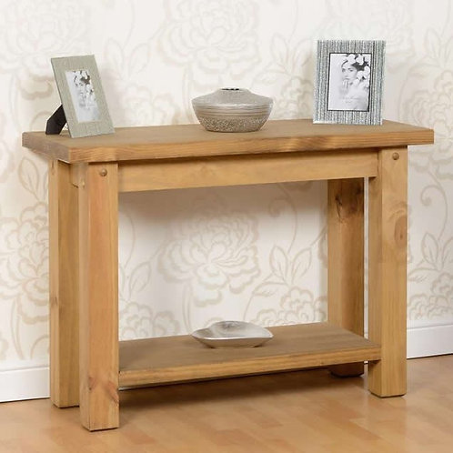 Dalby Pine Console Table