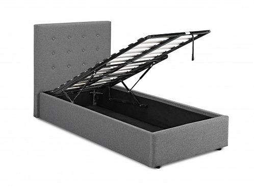 3ft Lucca Plus Bedframe - Grey