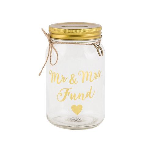 Mr and Mrs Fund Jar