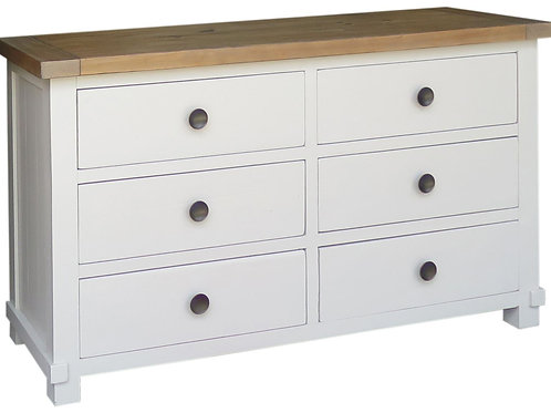 Melton 6 Drawer Wide Chest