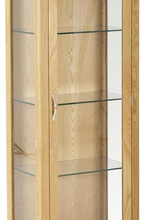 Nordic Oak Display Cabinet