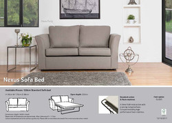 nexus sofa bed