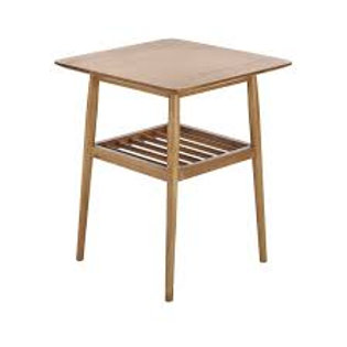 Lydia Oak Lamp Table