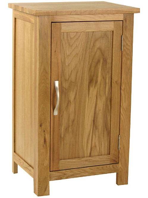Nordic Oak 1 Door Cupboard