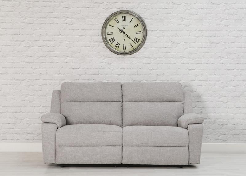 Jackson 3 seater recliner - grey