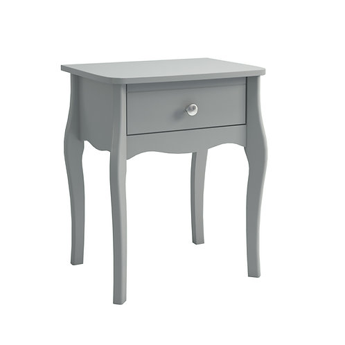 Baroque Grey Bedside