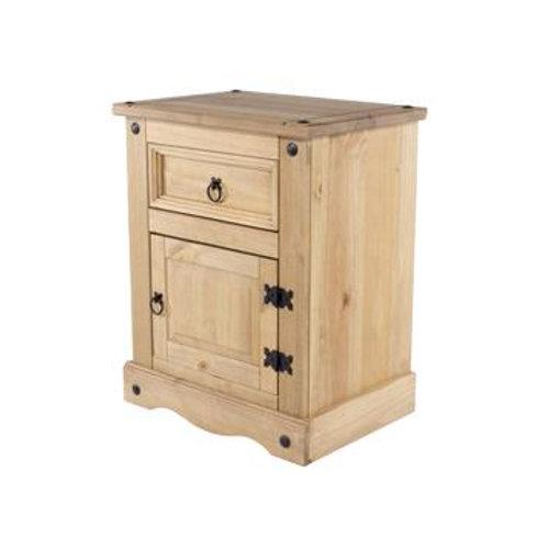 Albany Rustic 1 Drawer 1 Door Drawer Bedside