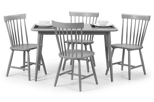 Torino Grey Dining Set