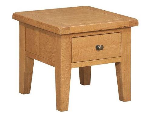 Torino Oak Lamp Table