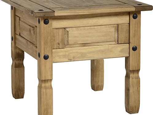 Albany Rustic Lamp Table