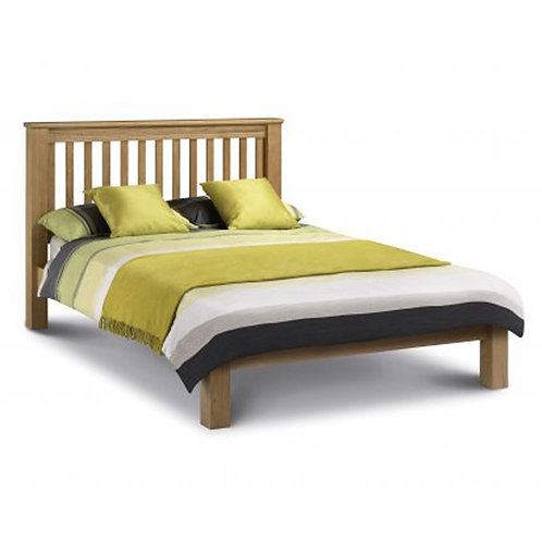 Amsterdam Low Foot 4ft6 Oak Bed