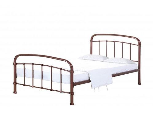 4ft6 Halston Copper Finish Bedframe