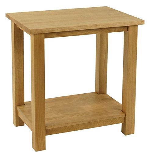 Nordic Oak Lamp Table