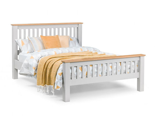 5ft Richmond Elephant Grey Bedframe