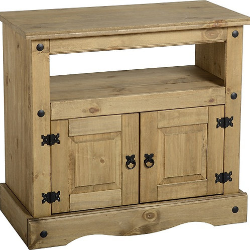 Alabany Rustic 2 Door TV Cabinet