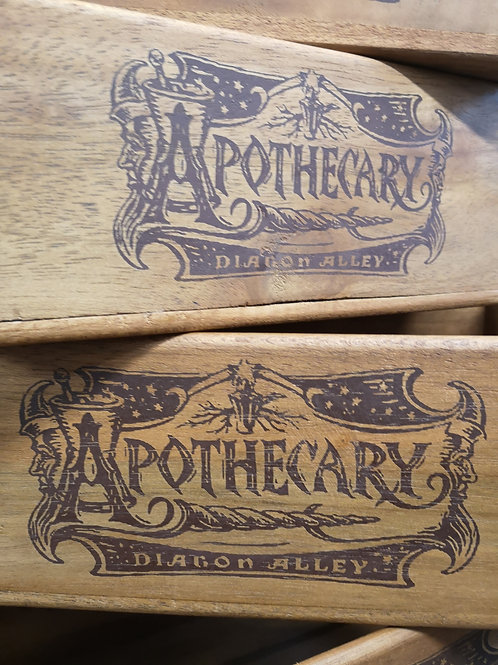 Apothecary Side Handle - Box Size 1