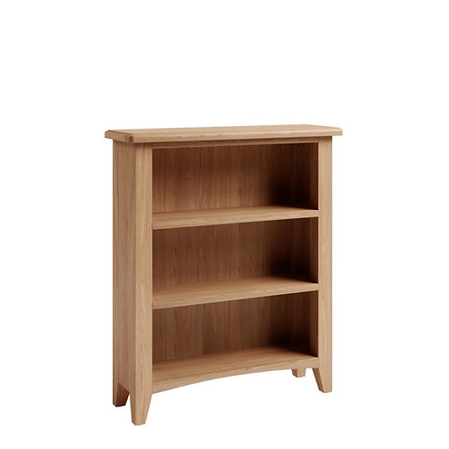 Whitley Oak Small Wide Bookcase