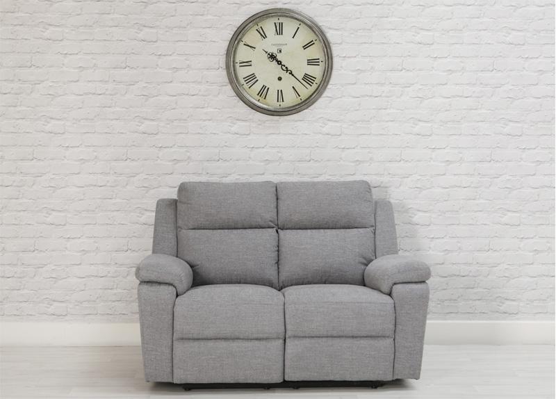 Jackson 2 seater recliner - grey