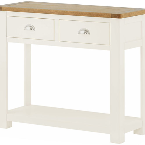 Oban White Large Console Table