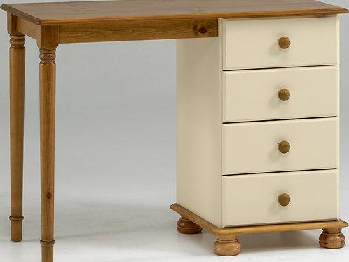 Richmond Cream Single Pedestal Dressing Table