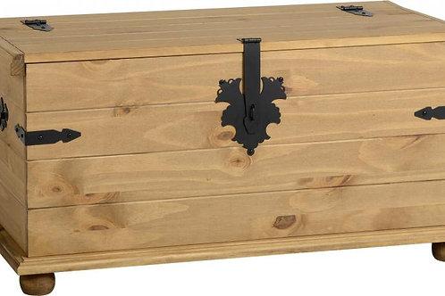 Albany Rustic Pine Blanket Box