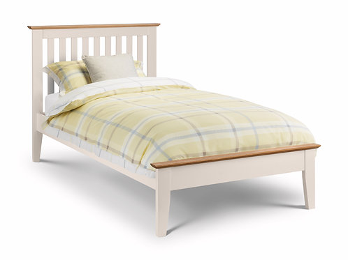 3ft Salerno Bedframe in Two Tone Finish