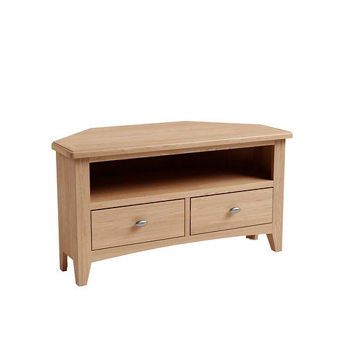 Whitley Oak Corner TV Unit