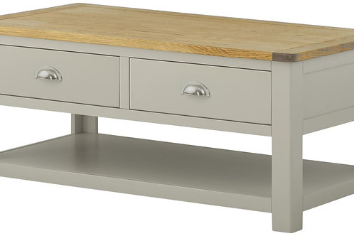 Oban Coffee Table with Drawers