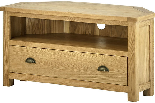 Oban Oak Corner TV Cabinet
