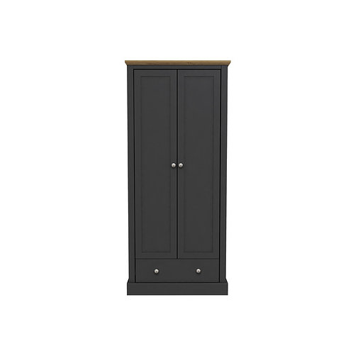 Dartmoor Charcoal 2 Door Robe