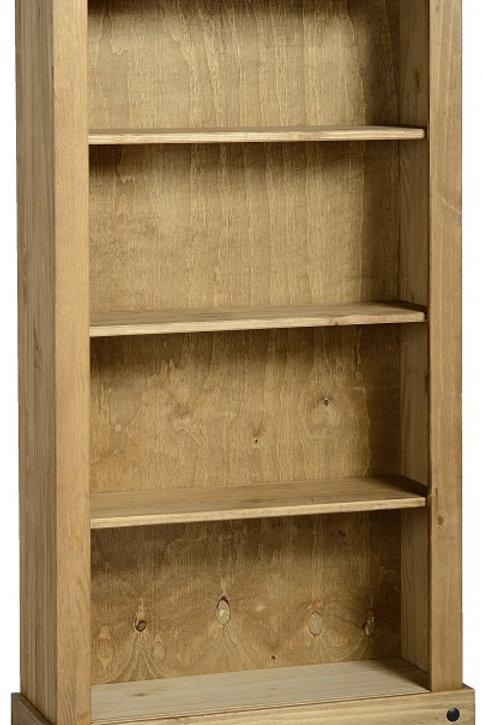 Albany Rustic Medium Bookcase