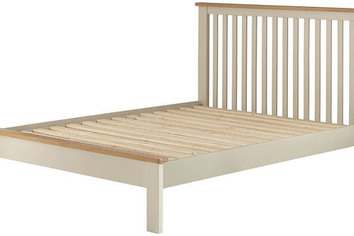 Oban Cream 5ft King Size Bedframe