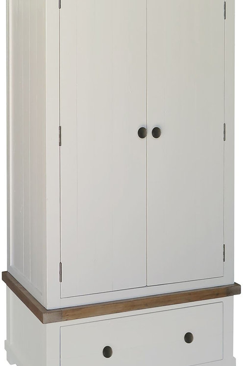 Melton 2 Door 1 Drawer Robe