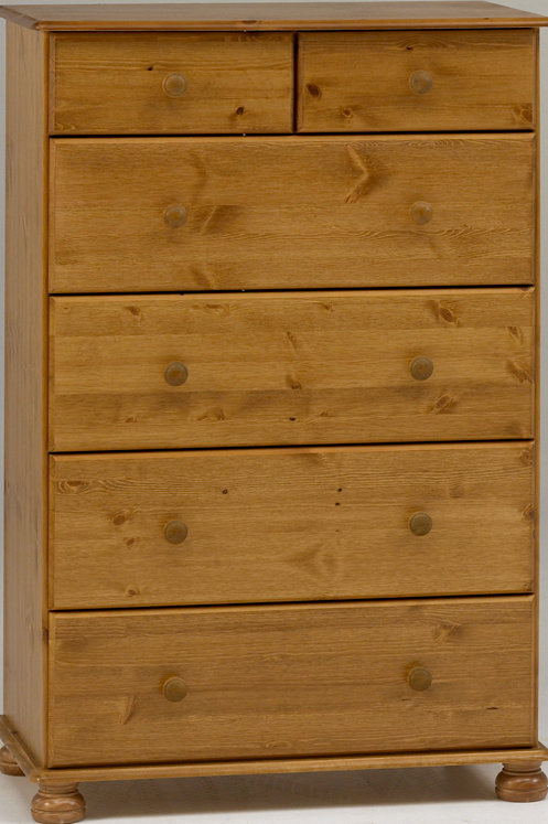 Richmond Pine 2+4 Deep Drawer Chest