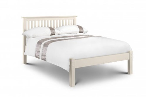 Barcelona 5ft Low White Bed
