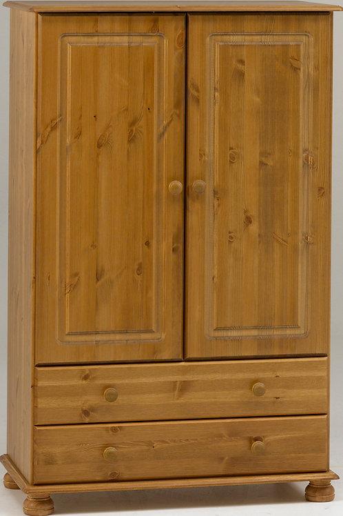 Richmond Pine 2 Door 2 Drawer Mini Robe