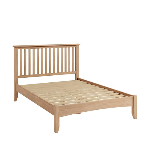 Whitely Oak 4ft6 Bedframe - 1 available only