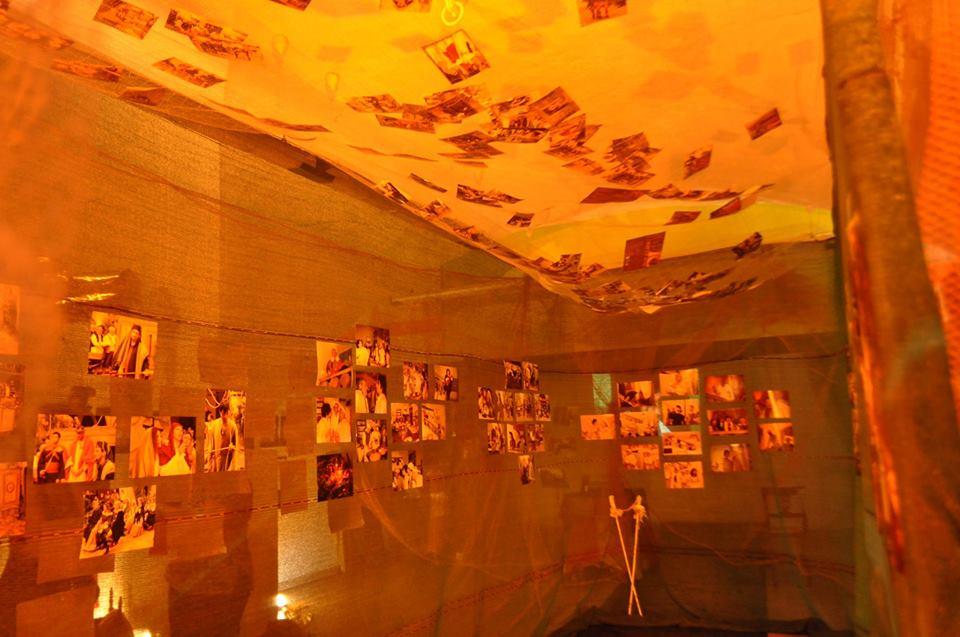 Muri di Luce Mostra Volti e risvolti