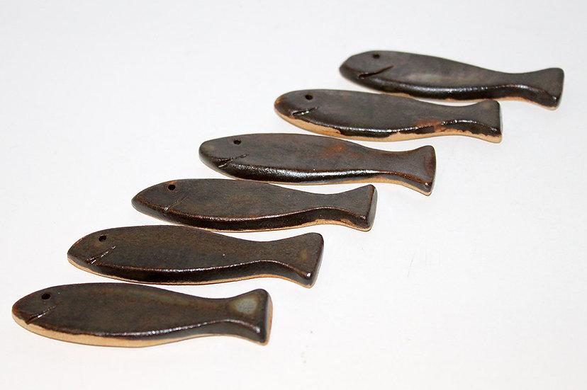 """Lot de 6 porte-couteaux sardine """"Gilles"""" - 2"""