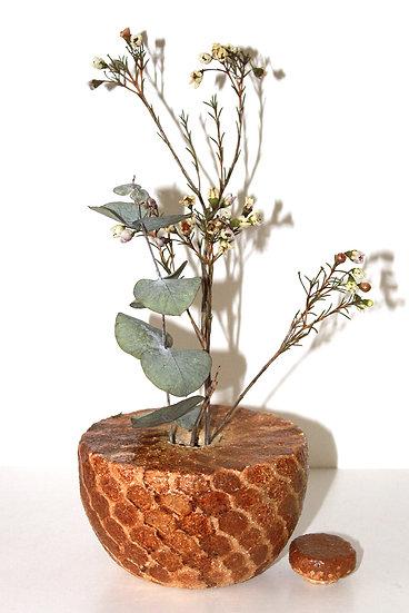 """Vase à bouchon alvéolé """"Abeille"""""""