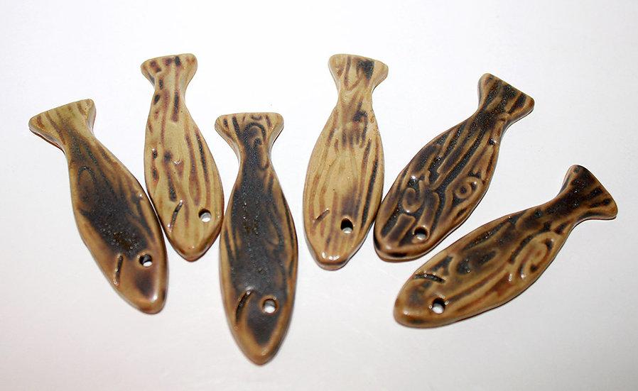 """Lot de 6 porte-couteaux sardine """"Alain"""" - 1"""