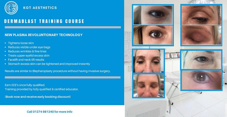 Dermablast Training Course